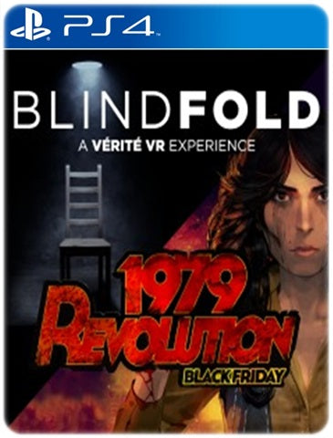 1979 REVOLUTION BLACK FRIDAY AND BLINDFOLD BUNDLE
