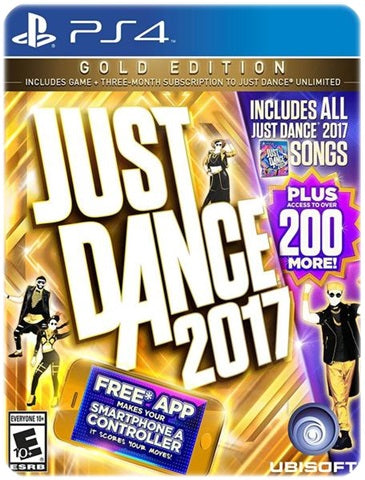 JUST DANCE 2017 GOLD EDITION