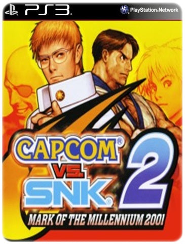 CAPCOM VS SNK 2 MARK OF THE MILLENNIUM 2001