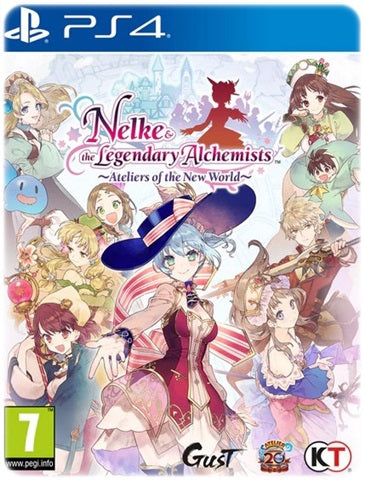 NELKE AND THE LEGENDARY ALCHEMISTS ATELIERS OF THE NEW WORLD
