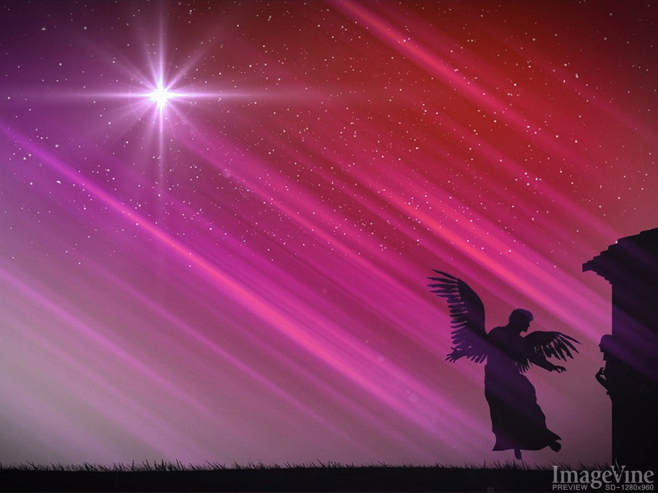 Angels Christmas Background.The Christmas Story Backgrounds Imagevine