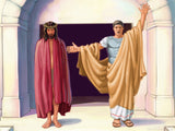 easter illustration jesus pontius pilate