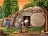 easter illustration jesus tomb burial of christ