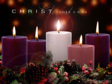 advent traditional pillars christ candle