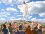 easter illustration jesus disciples hill the ascension