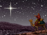 christmas illustrations guiding light