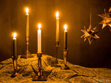 advent backgrounds candles on gold cloth
