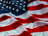 american flag background ripples