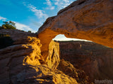 Mesa Arch Utah cliffs and cayons