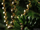 backgrounds for christmas tree decorations golden chain