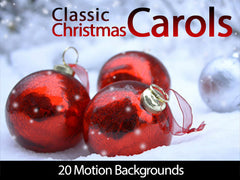 Classic Christmas Carols Motion Backgrounds Collection