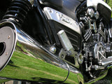 closeup motorcycle engine dad's bike