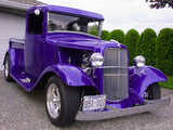classic purple truck dad's ride