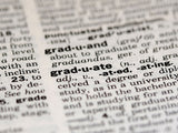 dictionary page definition of graduate