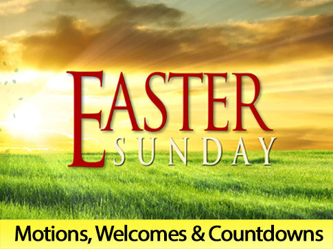 Easter Sunday, motion, backgrounds, easter, sunday