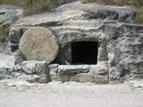 the empty grave of jesus