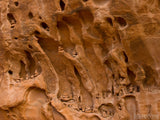 stocks of rock in eroded sandstone