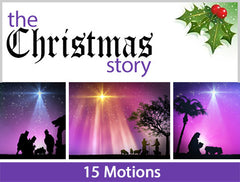 The Christmas Story Motion Backgrounds Collection