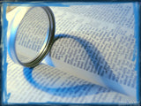 magnify glass bible heart of the promise