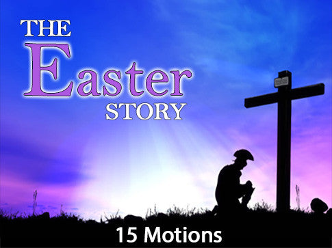 the easter story, easter, motion, backgrounds