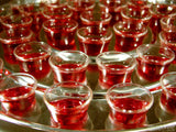 tray of communion cups