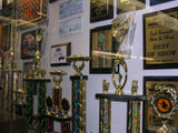 trophies wall of awards the trophy case