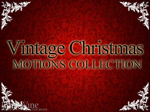 Vintage Christmas Motions Collection