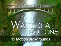 waterfall motion backgrounds