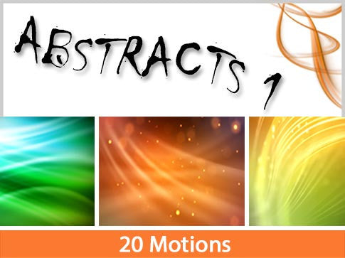 Abstract Backs V1 Motion Backgrounds Collection