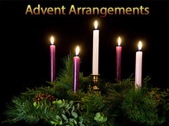 advent arrangement backgrounds collection