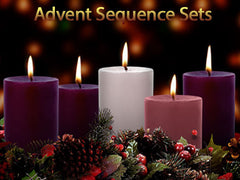 Advent Sequence Sets Backgrounds