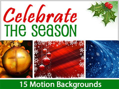 Celebrate the Season Motion Backgrounds Collection