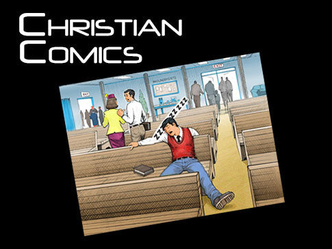 christian comic background collection