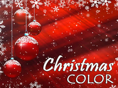 christmas color backgrounds collection