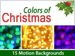 Colors of Christmas Motion Backgrounds