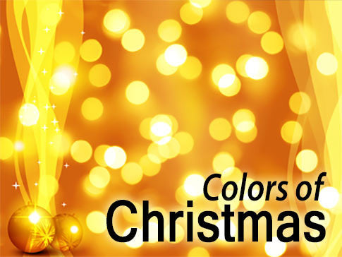 Colors of Christmas Backgrounds Collection