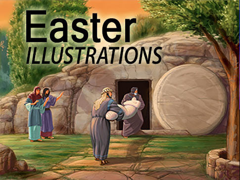 Easter Illustrations Backgrounds Collection