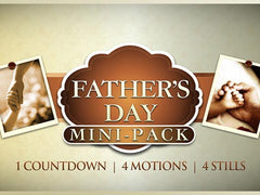fathers day motion backgrounds and countdown