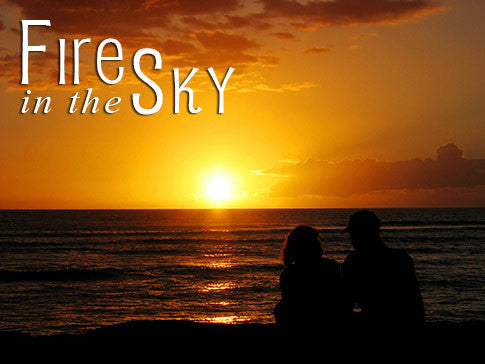 fire in the sky backgrounds collection