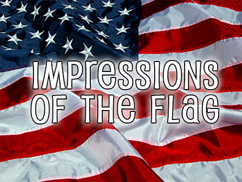impressions of the flag background collection