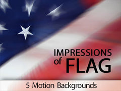 impressions of the flag background motions collection