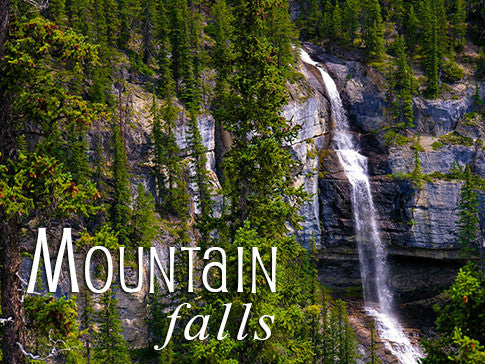 mountain falls backgrounds collection