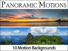 panoramic motion backgrounds collection