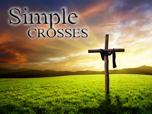 simple crosses background collection