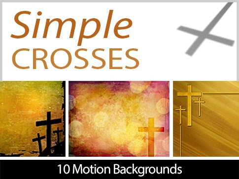 Simple Crosses Motion Backgrounds Collection