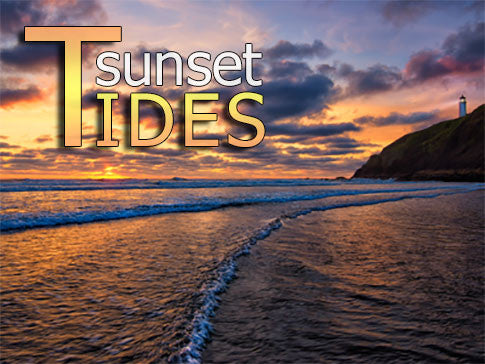 Sunset Tides Backgrounds Collection