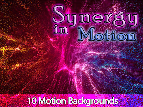 Synergy in Motion Backgrounds Collection