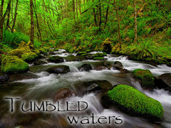 Tumbled Waters Backgrounds Collection