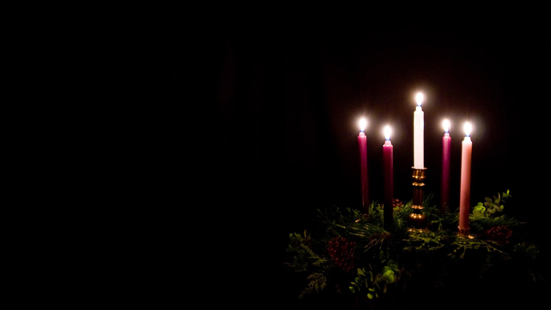 free advent backgrounds, candles, christmas