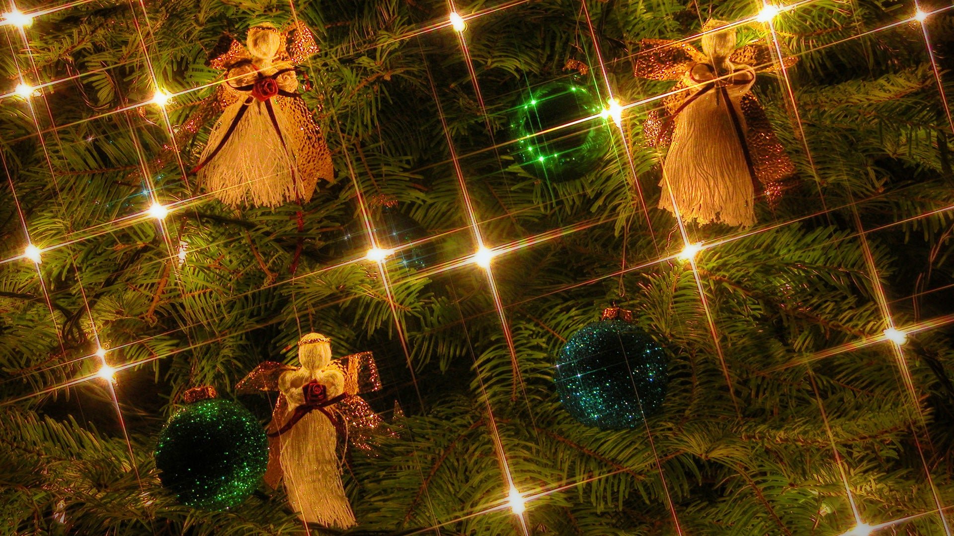 free, christmas, easyworship, backgrounds, tree, angels, ordements, lights